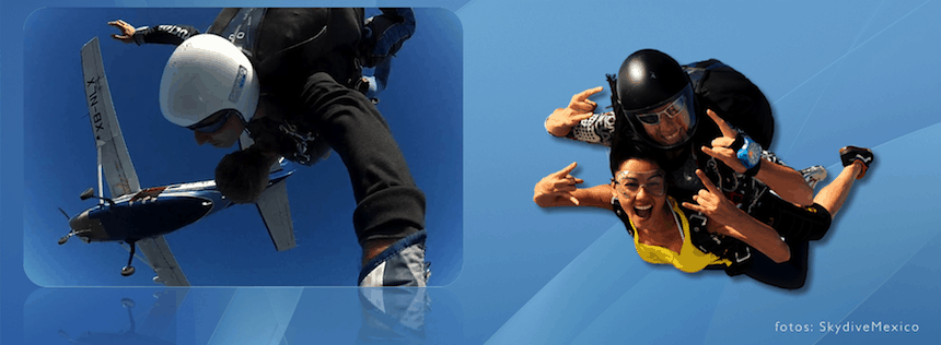 paracaidismo en mexico