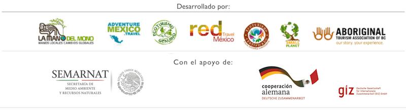 logos organizaciones taller de validación modelo ecoturismo y aventura market ready mexico