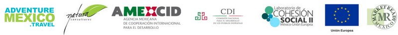 cohesion social amexcid cdi natura consultores logos