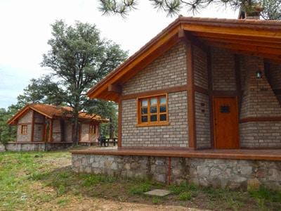cabañas otinapa sierra camps durango mexico