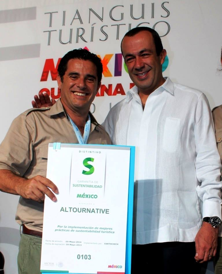 Alltournative Recibe Distintivo S