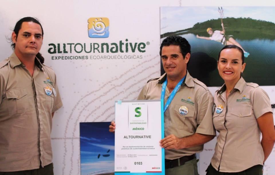 Alltournative Expediciones Ecoarqueológicas recibe Distintivo S de SECTUR