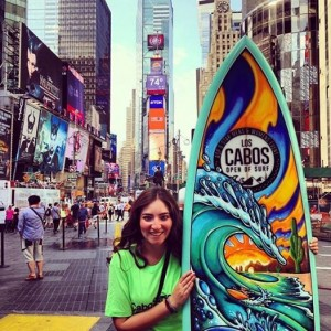 los cabos open surf selfie new york city