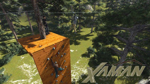 Xaman Expediciones Construcciones Tirolesas