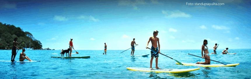 standup paddleboard en mexico