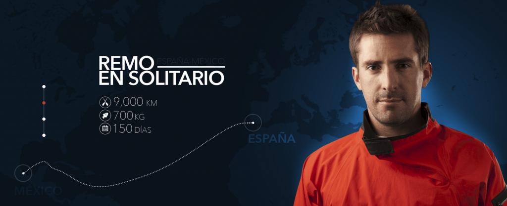 Abraham Levy aventurero Mexicano cruza el Atlantico a remo de España a Cancun