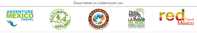 banner colaboradores ecoturismo certificado adventure mexico travel