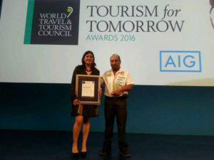 premio WTTC Tourism for Tomorrow Award Expediciones SIerra Norte Oaxaca Mexico