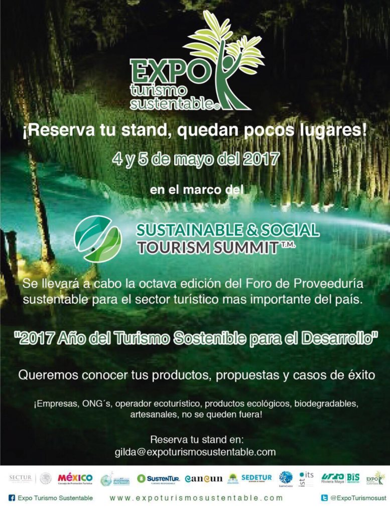 expo turismo sustentable 2017 cancun