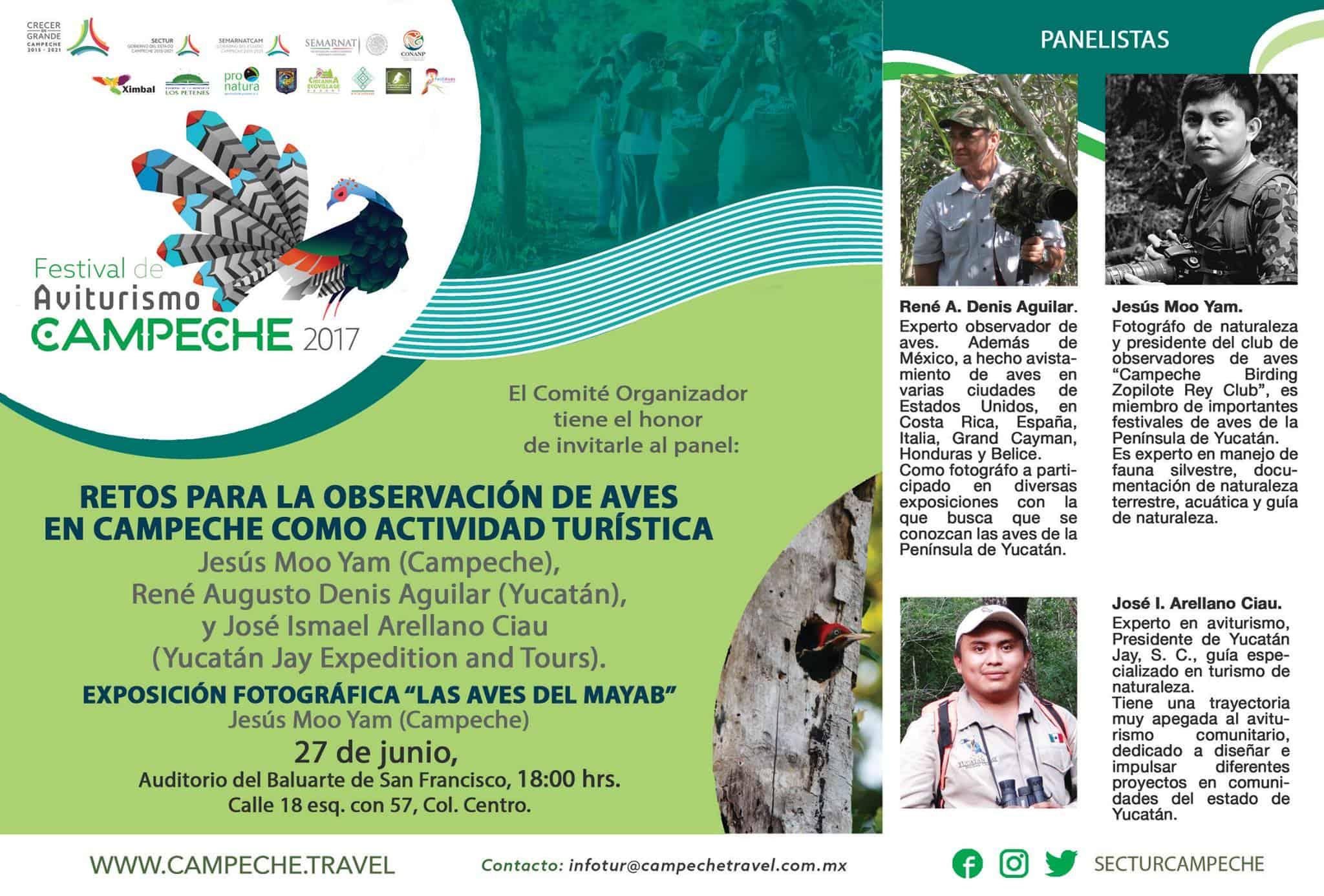 festival aviturismo campeche 2017 programa
