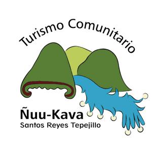 logo Ecoturismo Ñuu Kava en SAntos Reyes Tepejillo región Mixteca de Oaxaca