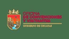 logo oficina convenciones y visitantes chiapas